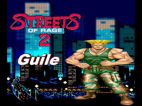 Guile in Streets of rage 2