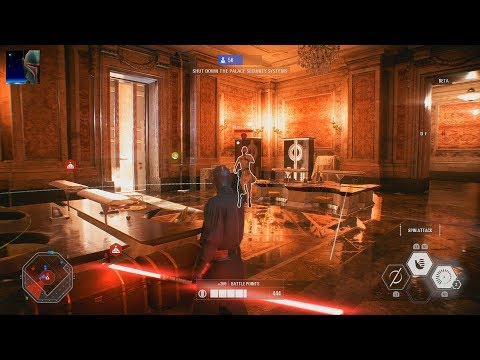 Star Wars Battlefront II Beta - Galactic Assault Gameplay PS4 60fps (No Commentary)