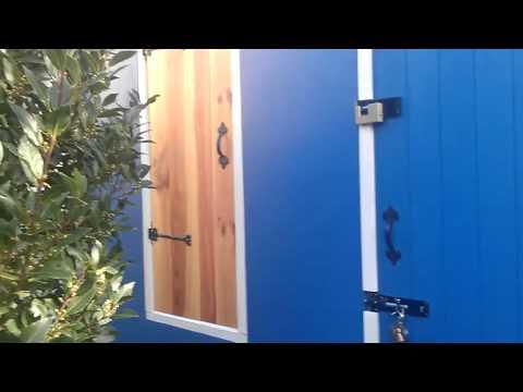 My new woodworking workshop, East Ham, London, UK.