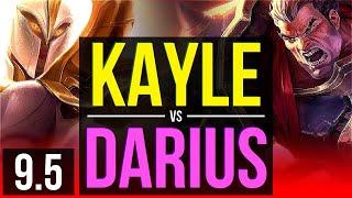 KAYLE vs DARIUS (TOP) | NA Diamond | v9.5
