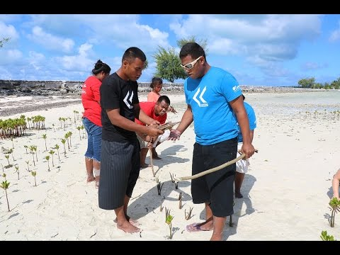 Boore, James and the Caritas Kiribati Youth Group