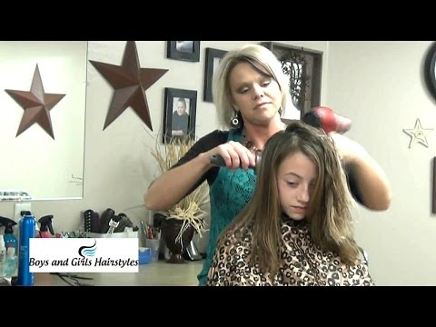 Haircut Tutorial – Medium Length Layers Hairstyles