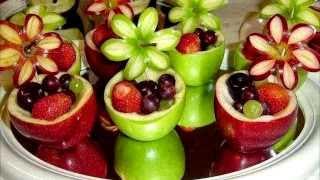 Farklı Meyve Sunumları