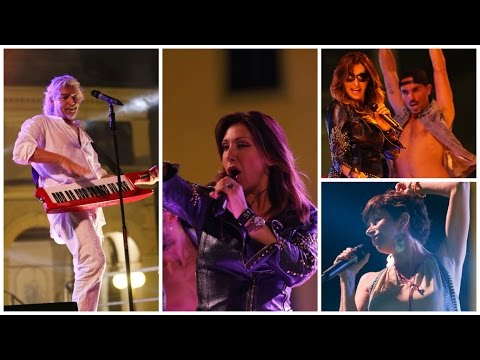 80 Festival Palmanova 2016 Sabrina Salerno, Sandy Marton, Diana Est