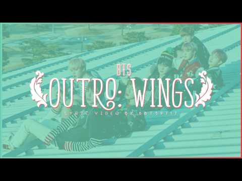 BTS - WINGS OUTRO Lyrics [ENG/KOR]
