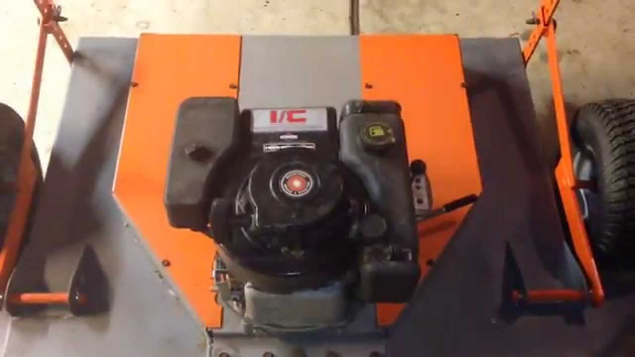 Haban Tow Behind Mower Part 2/2