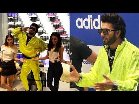 Ranveer Singh LAUNCHES NEW Adidas Originals Store At Linking Road