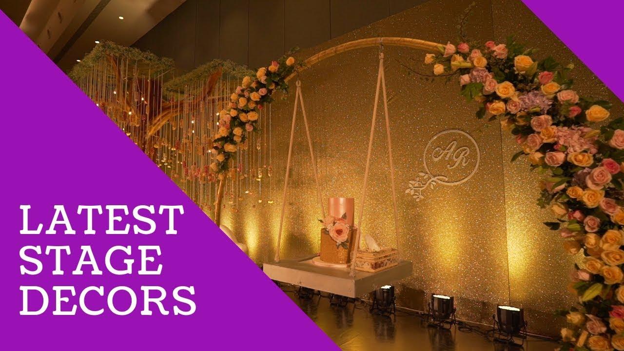 Latest Wedding Stage Decoration Idea Youtube