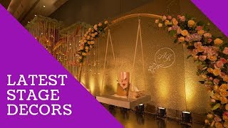 Latest Wedding Stage Decoration Idea!!!!