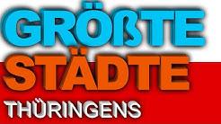 95 GRÖßTE Städte Thüringens | BesserWissen