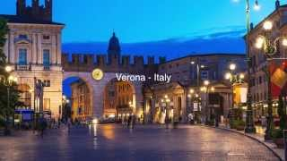 Verona -  Italy - UNESCO World Heritage Site
