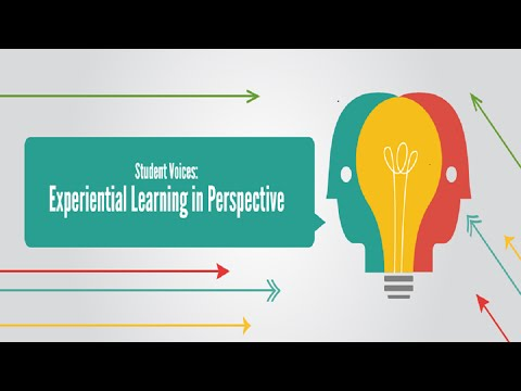 Student Voices: Experiential Learning in Perspective (FYE Webinar)