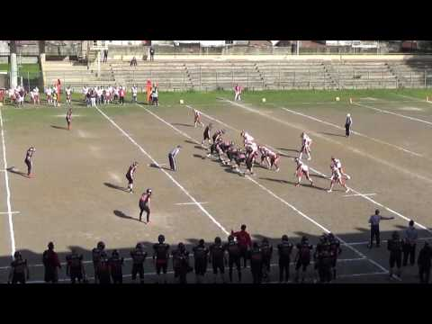 Elephants Catania vs Gladiatori Roma fumble perfetto!!