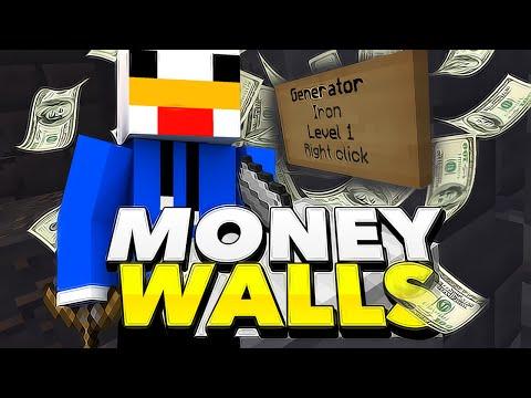 EPIC: MI PRIMERA PARTIDA EN MONEY WALLS | MINECRAFT PVP
