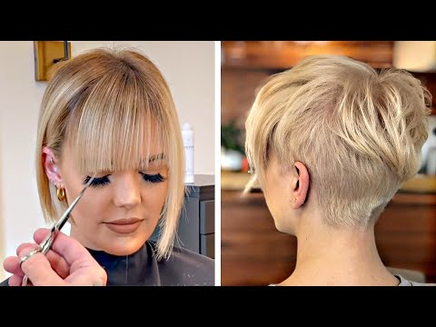 Amazing Short Haircut For Women | New Pixie Cut Ideas Compilation | Trendy Hairstyles Tutorial GRWM