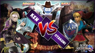 【Smash 4】Discord Duels: Ken (Lucina, Corrin) vs Otakuni(Link)