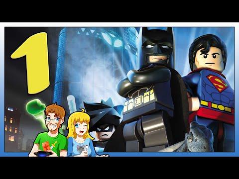 LEGO BATMAN 2 DC Superheroes Live Part 1