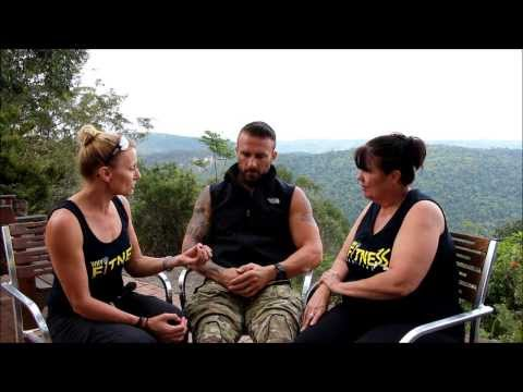 WHAT MADE STEVE WILLIS AKA 'THE COMMANDO' BLUSH?  5 QUESTIONS IN 5 MINUTES WITH WHY FITNESS MAGAZINE