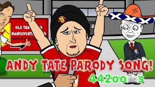 Andy Tate CARTOON! 👹Man Utd vs Man City 4-2✈️ Goals Highlights PARODY