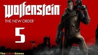 Прохождение Wolfenstein: The New Order (2014) HD - Часть 5 (Мой герой)