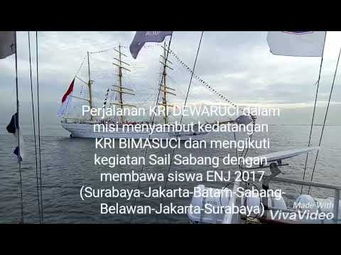 Expedisi Nusantara Jaya (ENJ) 2017 Bersama KRI DEWARUCI