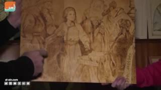 فنان في غزة يرسم عن التعايش المسيحي الإسلامي