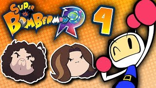 Super Bomberman R: The Greatest Trick the Devil Ever Played - PART 4 - Game Grumps VS