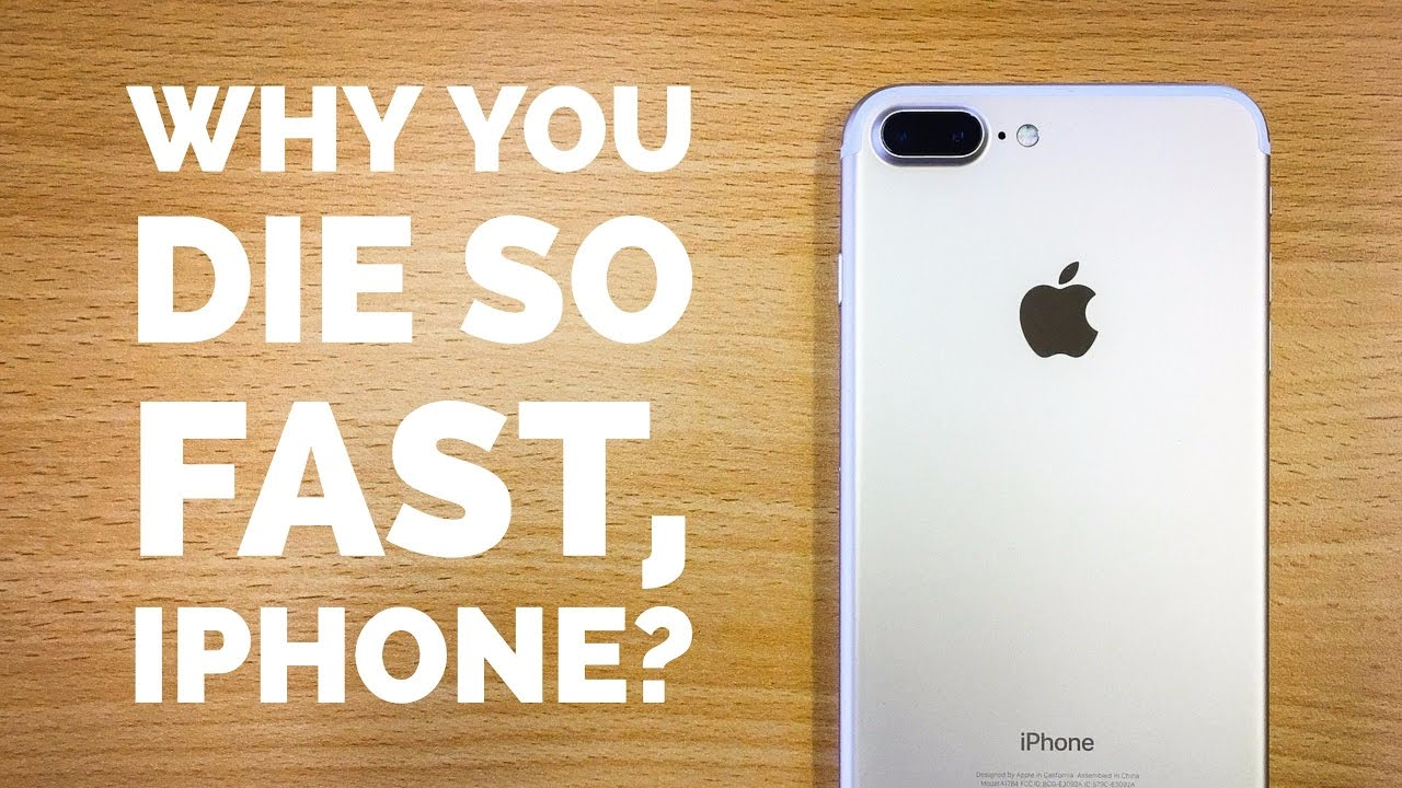 finest selection 84cb0 eec15 WHY DOES MY IPHONE BATTERY GO DEAD SO FAST?