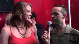 Maitland Ward Bobby Paradise Red Carpet Interview