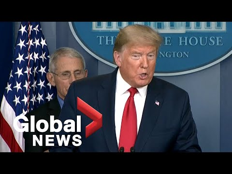 Coronavirus outbreak: Trump says return to normal by Easter would be a