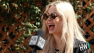 Nina Nesbitt Talks Ed Sheeran Relationship & Selfies!