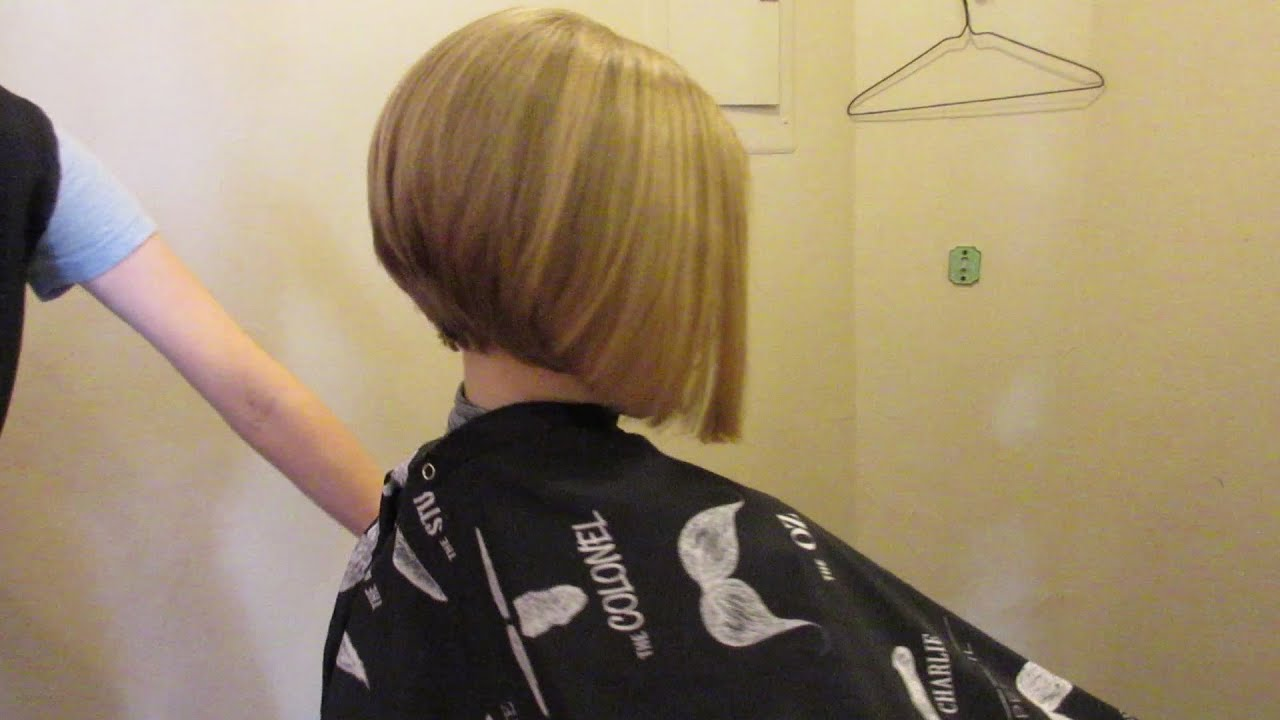 how to a new haircut julie s new a line cut 4162