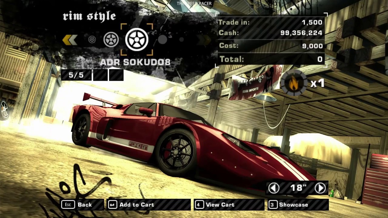 Nfs Most Wanted  Ford Gt Customization