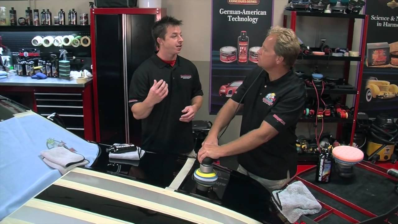 How To Remove Swirls And Create A Show Car Finish Using Blackfire - Show car products