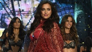 Irina Shayk Walks 2016 Victoria's Secret Fashion Show Runway PREGNANT