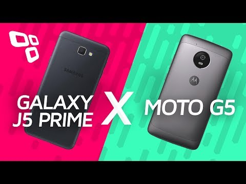 Samsung Galaxy J5 Prime Vs. Motorola Moto G5 - Comparativo - TecMundo