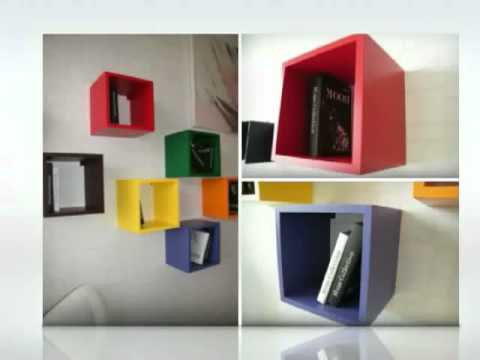 Designxtutti cubi colors youtube for Cubi da parete ikea