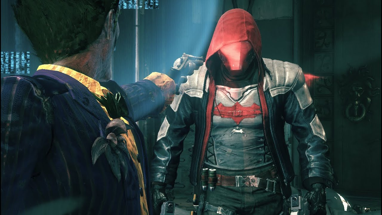 Red Hood Joker Batman: Arkham ...