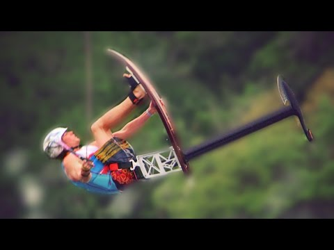 FLYING WATER CHAIR TRICKS (Vooray) // @ScottDW