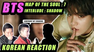 Download lagu 🔥(ENG) KOREAN Rappers react to BTS (방탄소년단) MAP OF THE SOUL : 7 'Interlude : Shadow'🔥