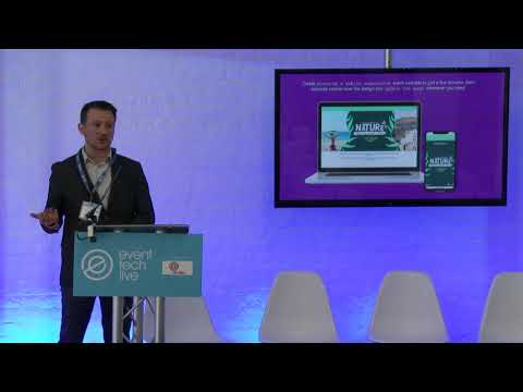 Tech Demo: Eventtia - Automatising the entire planning protocol - Event Tech Live 2018