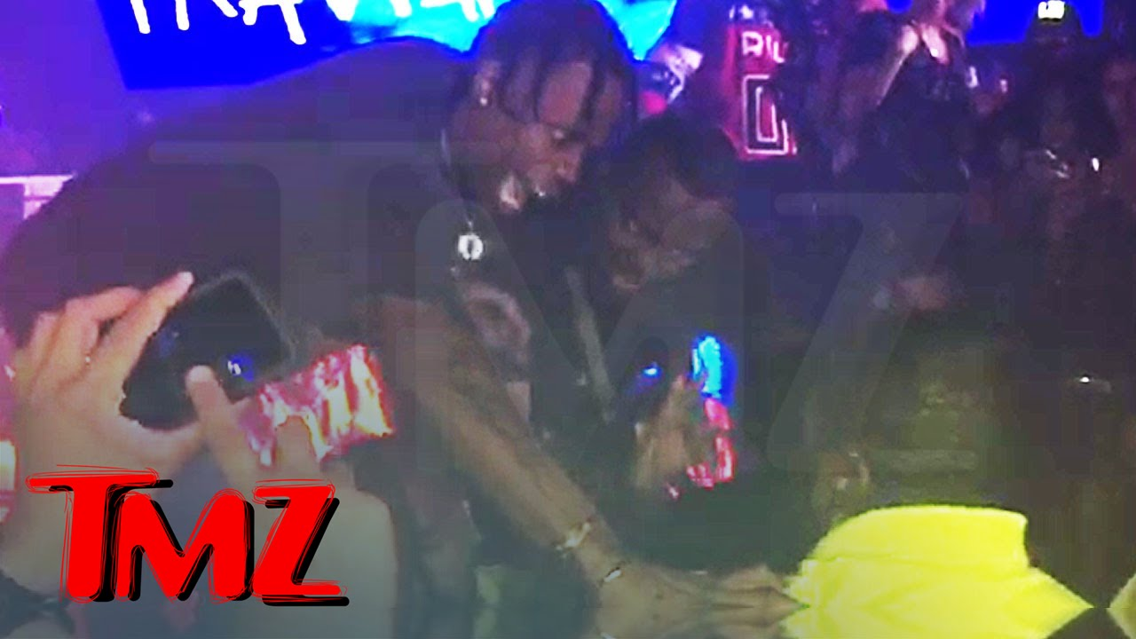 12a9641dce19 Travis Scott Fights Security at Concert ... | TMZ - YouTube