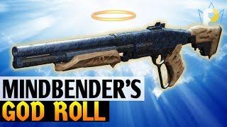 BEST PvP Shotgun Hands Down: The Mindbender's Ambition GOD ROLL (Destiny 2)