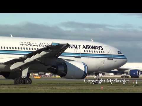 Kuwait Airways A300-600R SPECIAL! {9K-AMA/AMB/AMC/AMD} at Heathrow Airport