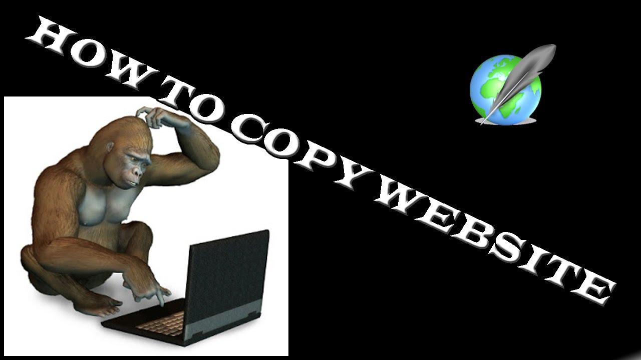 Web site copy