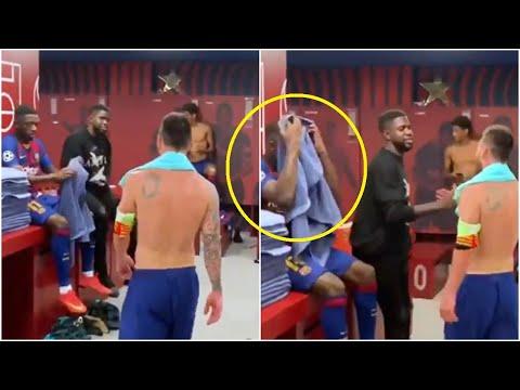 Что случилось между Месси и Дембеле в раздевалке Барселоны? Роналду грозит 2-летний бан!