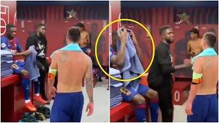 Что случилось между Месси и Дембеле в раздевалке Барселоны Роналду грозит 2 летний бан