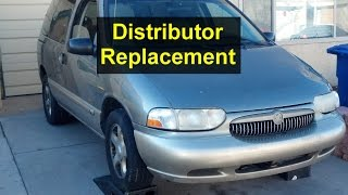 Distributor replacment for Mercury Villager, Nissan Quest, Pathfinder, Xterra, Frontier, QX4 - VOTD