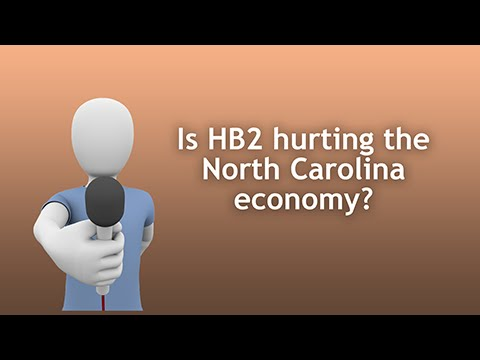 Is HB2 Hurting the North Carolina Economy?