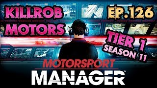 Motorsport Manager: Ep.126 Season 11 Race 9